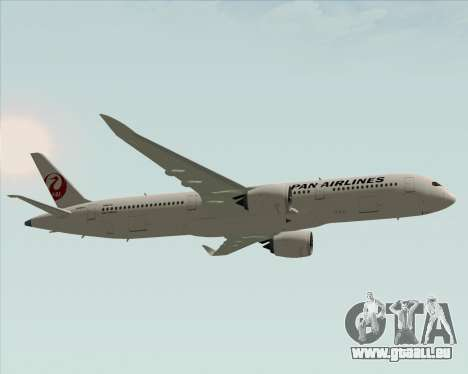 Airbus A350-941 Japan Airlines für GTA San Andreas Innenansicht