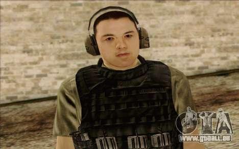 Asano from ArmA II: PMC für GTA San Andreas dritten Screenshot