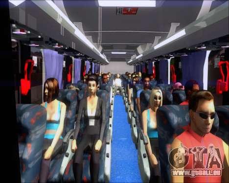 Marcopolo Ideale 770 - Volksbus 17-230 EOD für GTA San Andreas Innen
