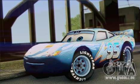 Lightning McQueen Dinoco für GTA San Andreas