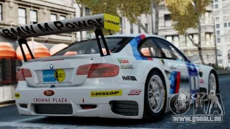 BMW M3 GT2 pour GTA 4 est une gauche