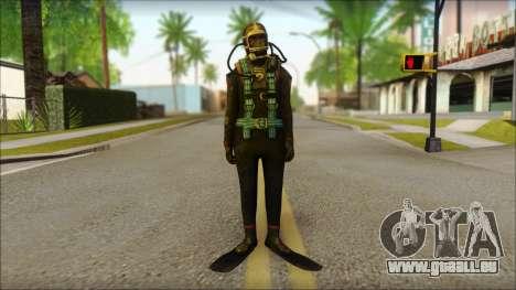 Plongeur pour GTA San Andreas