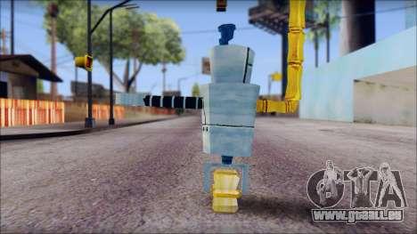 Hamsmp from Sponge Bob pour GTA San Andreas deuxième écran