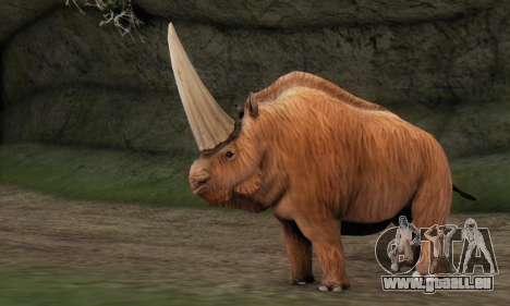 Elasmotherium (Extinct Mammal) für GTA San Andreas