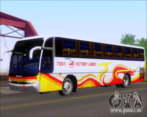 Marcopolo Victory Liner 7001 für GTA San Andreas linke Ansicht