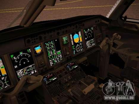 Embraer E190 Azul Tudo Azul pour GTA San Andreas vue de côté
