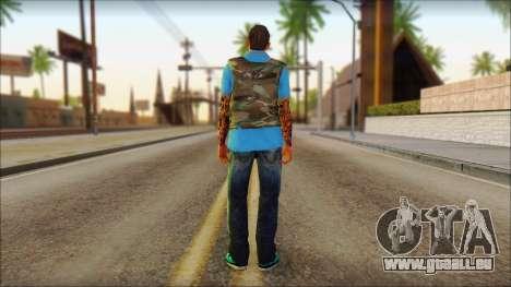 Skin Sicario GTA V By Cesar Hardy für GTA San Andreas zweiten Screenshot