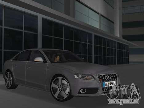 Audi S4 (B8) 2010 - Metallischen für GTA Vice City