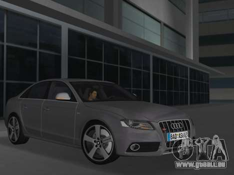 Audi S4 (B8) 2010 - Metallischen pour GTA Vice City