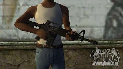 TheCrazyGamer M16A2 für GTA San Andreas dritten Screenshot