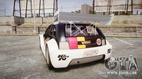 Zenden Cup K&N Airfilters pour GTA 4 Vue arrière de la gauche