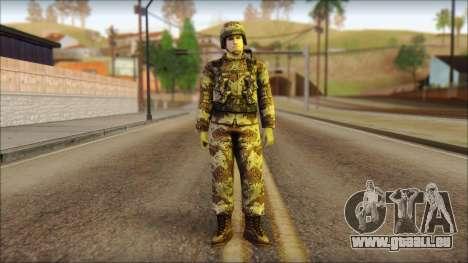 Navy Seal Soldier für GTA San Andreas