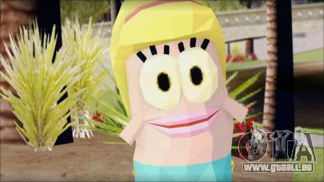 Blfemfish from Sponge Bob für GTA San Andreas dritten Screenshot