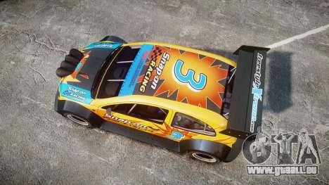 Zenden Cup Snap-On für GTA 4 rechte Ansicht
