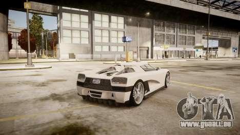 Entity XF für GTA 4 hinten links Ansicht
