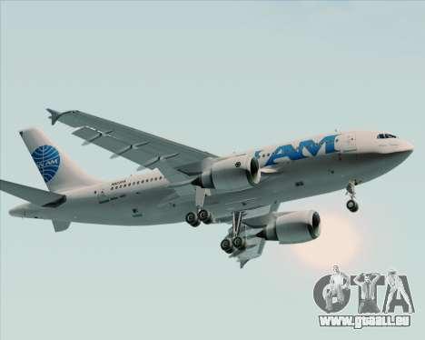 Airbus A310-324 Pan American World Airways pour GTA San Andreas sur la vue arrière gauche