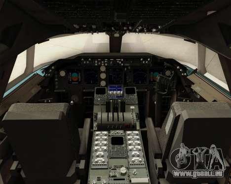 Boeing 747-8 Cargo Korean Air Cargo für GTA San Andreas Innen