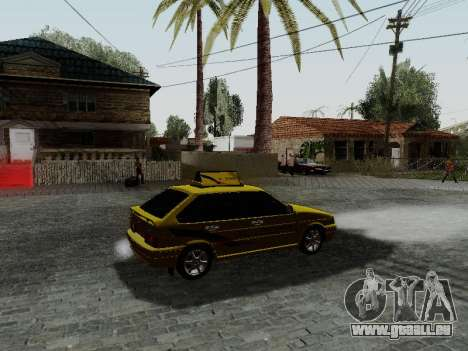 VAZ 2114 TMK Nachbrenner für GTA San Andreas rechten Ansicht