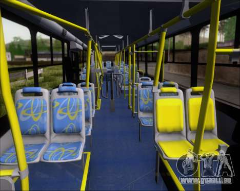 Comil Svelto BRT Scania K310IB 6x2 Sorocaba für GTA San Andreas Seitenansicht