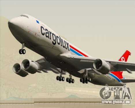 Boeing 747-8 Cargo Cargolux pour GTA San Andreas
