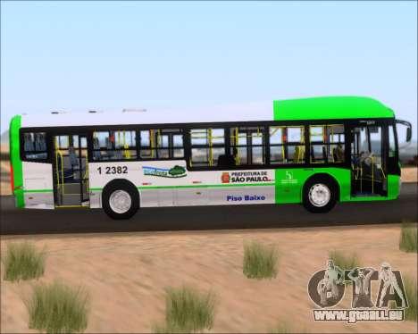 Caio Induscar Millennium BRT Viacao Gato Preto pour GTA San Andreas vue intérieure