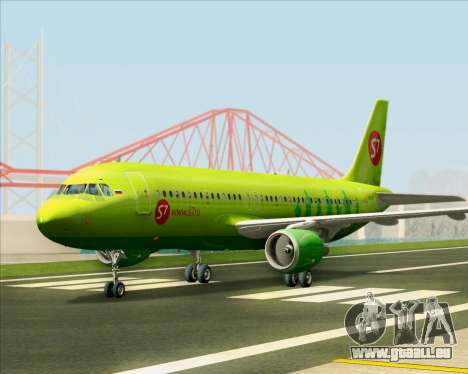 Airbus A320-214 S7-Siberia Airlines pour GTA San Andreas