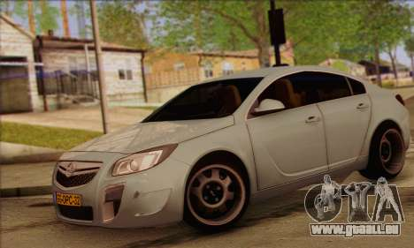 Opel Insignia OPC ATS Cup pour GTA San Andreas