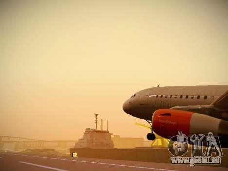 Airbus A319-132 Scandinavian Airlines für GTA San Andreas Motor