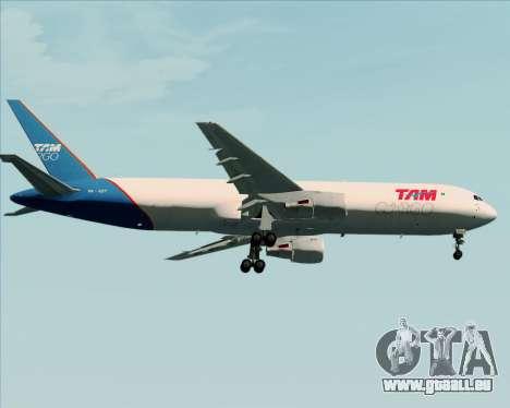 Boeing 767-300ER F TAM Cargo pour GTA San Andreas vue de côté