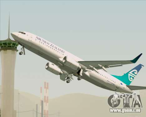 Boeing 737-800 Air New Zealand pour GTA San Andreas moteur