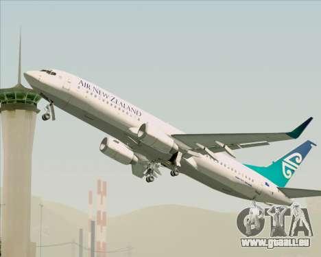 Boeing 737-800 Air New Zealand pour GTA San Andreas moteur