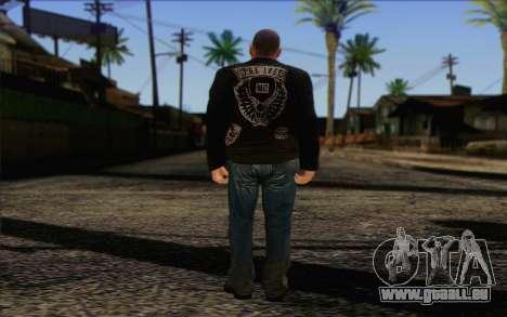 Johnny Klebitz From GTA 5 für GTA San Andreas zweiten Screenshot