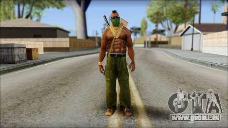 MR T Skin v11 für GTA San Andreas