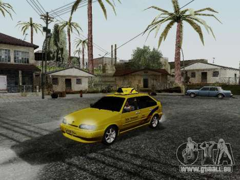 VAZ 2114 TMK postcombustion pour GTA San Andreas
