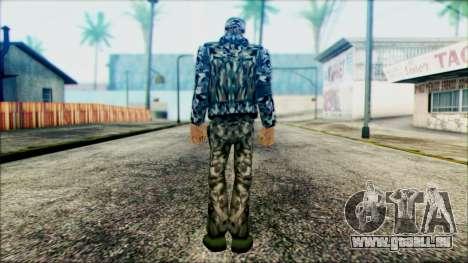 Manhunt Ped 21 pour GTA San Andreas deuxième écran