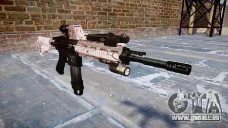Automatische Gewehr Colt M4A1 cherry blososm für GTA 4