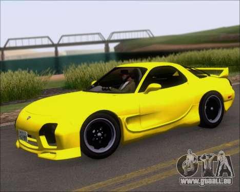 Mazda RX-7 FD3S A-Spec pour GTA San Andreas vue de côté
