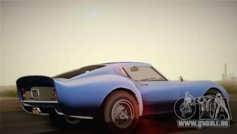 GTA 5 Stinger GT pour GTA San Andreas laissé vue