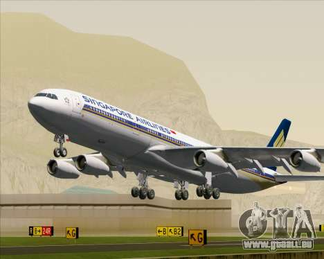 Airbus A340-313 Singapore Airlines pour GTA San Andreas
