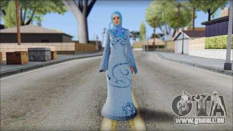 Gaza Tina Armstrong für GTA San Andreas