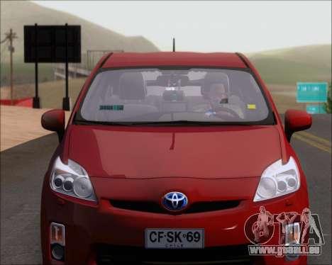 Toyota Prius pour GTA San Andreas vue de côté