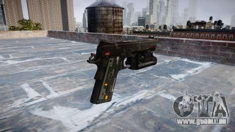 Pistolet Kimber 1911 CE Numériques pour GTA 4 secondes d'écran