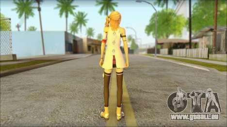 Sarah from Final Fantasy XIII für GTA San Andreas zweiten Screenshot