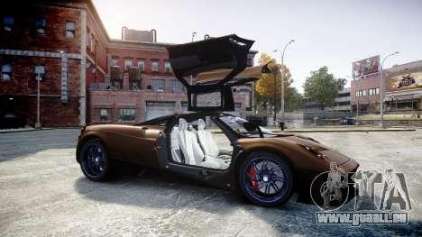 Pagani Huayra 2013 pour GTA 4 est un côté