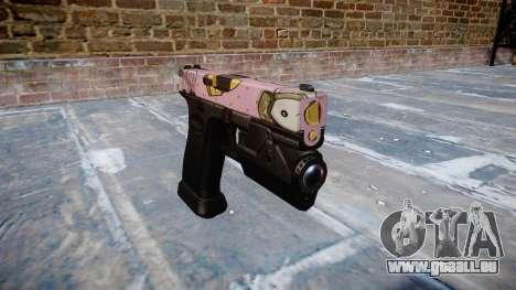 Pistolet Glock 20 kawaii pour GTA 4
