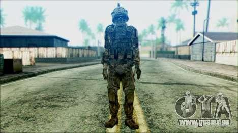 Les soldats de l'équipe de Fantômes 3 pour GTA San Andreas