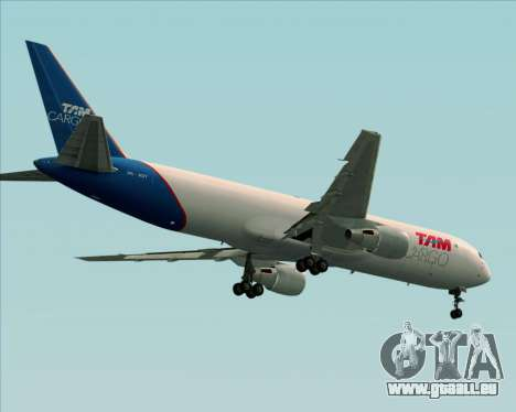 Boeing 767-300ER F TAM Cargo für GTA San Andreas Räder