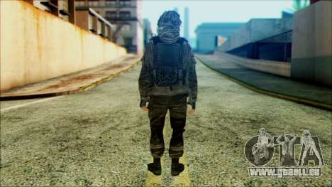 Les soldats aéroportés (CoD: MW2) v4 pour GTA San Andreas deuxième écran