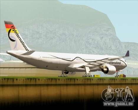 Airbus A330-300 Fly International für GTA San Andreas rechten Ansicht