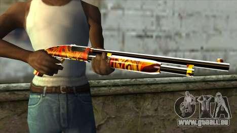 Dash Shotgun pour GTA San Andreas troisième écran